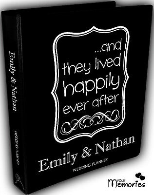 Wedding Planner/ Happily Ever /Diary/Organiser/Engagement Present / Gift idea