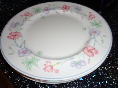 Boots Carnation Dinner Plates X 4