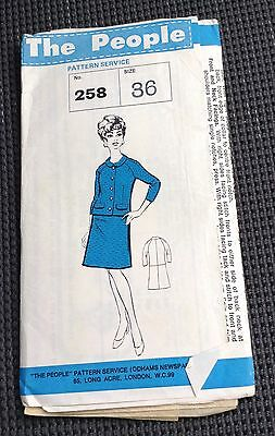 1960's Suit - The People 258 Pattern