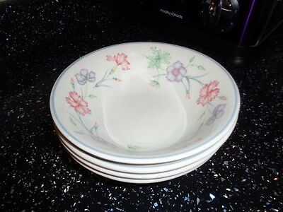 Boots Carnation Cereal Bowls X 4