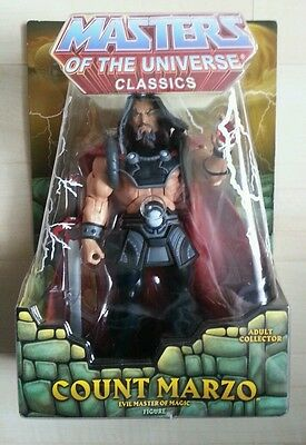 COUNT MARZO Masters of the Universe Classics he-man motu