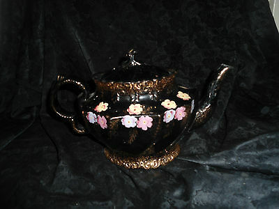 Hand painted Numbered Tea Pot