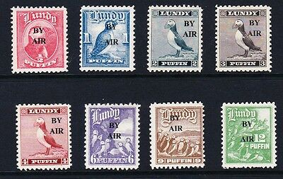 Lundy 1950 Airmail Provisionals Set MM