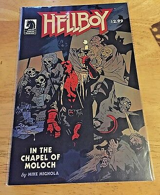 Hellboy In the Chapel of Moloch (2008) one-shot VF+/NM Dark Horse comics Mignola