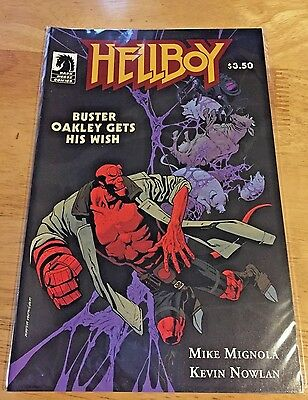 Hellboy Buster Oakley Gets His Wish 2010 Mike Mignola One Shot Dark Horse comic