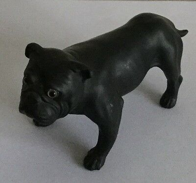 Wedgwood Basalt Bulldog. Ernest Light.  C 1910