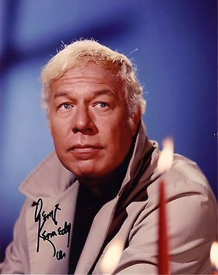 George Kennedy Naked Gun, Dallas, Genuine Hand Signed 10x8 Photo, Comes With COA