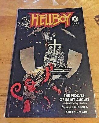 HELLBOY The Wolves of Saint August #1 (1995) Dark Horse VF+/NM Mignola