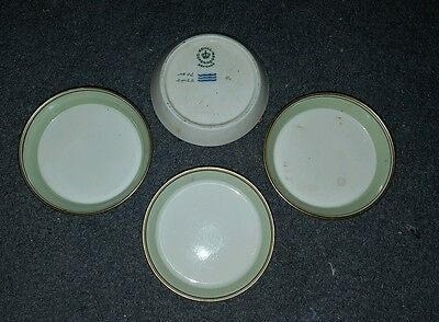 Vintage Royal Copenhagen Ashtray set 4