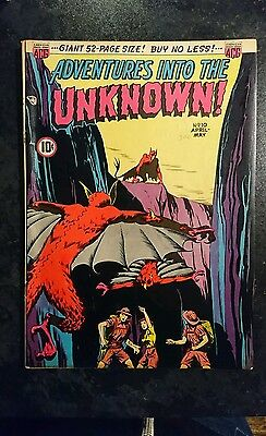 Adventures Into The Unknown #10 (ACG, 1950) Condition: Approx FN.....
