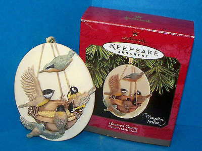 Hallmark Christmas Ornament Honored Guests Nature's Sketchbook Marjolein Bastin
