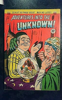 Adventures Into The Unknown #12 (ACG, 1950) Condition: Approx FN.....