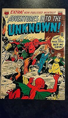 Adventures Into The Unknown #15 (ACG, 1950) Condition: Approx FN.....