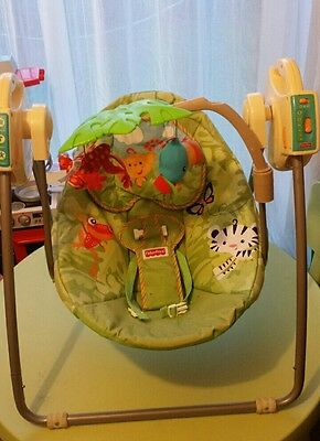 Fisher Price Rainforest Swing Cradle
