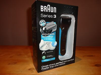 Braun Series 3 3040 Men Dry Electric Foil Shaver Waterproof     BRAND NEW SEALED