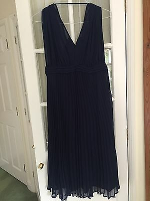Formal Asos Navy Maternity Dress Size 8