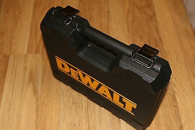 DEWALT WORKSITE KIT BOX CASE with 2 TOUGH CASES INSIDE