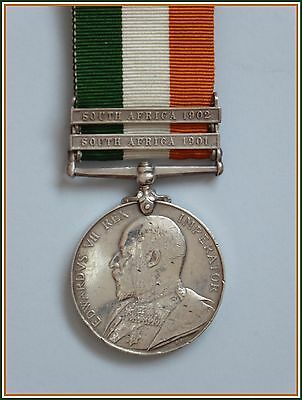 Boer War King's South Africa Medal Leicestershire Regiment Leicester Soldier