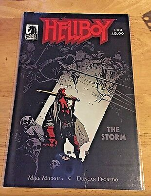 Hellboy: the Storm #1-3 NM complete series Dark Horse comics mike mignola 2011