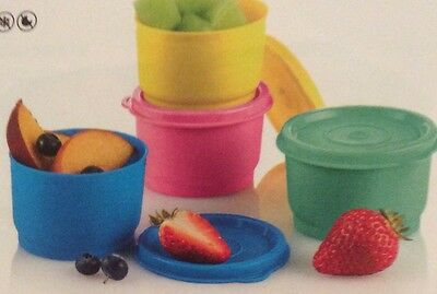 Tupperware Snack Cups Brand New Set Of 4 Combined Post Welcome