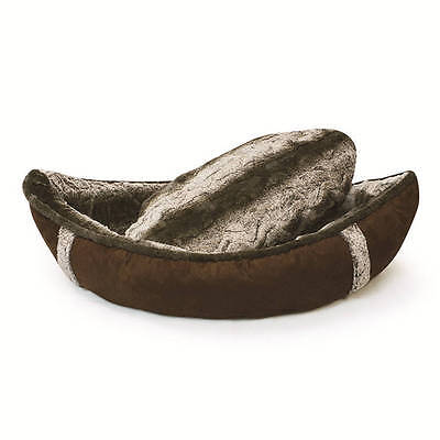 Boat Dog Bed Faux Fur Pet Cat Soft Puppy Beds Cushions Warm Plush Dogs Cushion