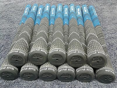 Genuine Golf Pride Decade +4 Blue Grips x11 Size 60R for Woods or Irons, saved