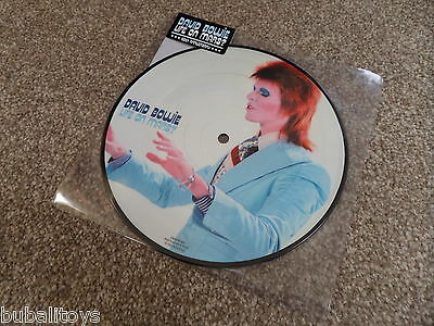 """David Bowie - Life On Mars? 7"""" 2013 Pic Disc 40th Anniversary Vinyl Record NEW"""