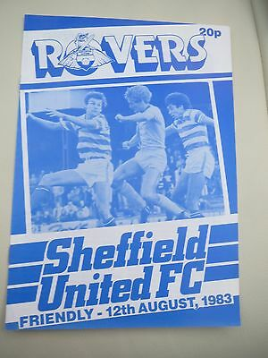 Doncaster Rovers V Sheffield United  Friendly    1983/4