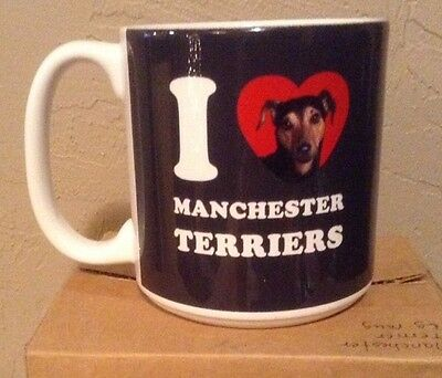 Manchester Terrier Ceramic Coffee Large Coffee Tea Mug New