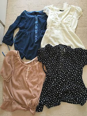 Ladies size 10 Blouse Top Bundle X5