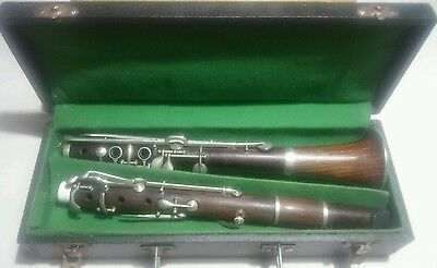 Beautiful Vintage Buffet Crampon clarinet Red Wood clarinette AS IS