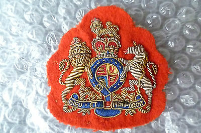 Patches- Empire Patch for SGT Major in the British Army (RARE)