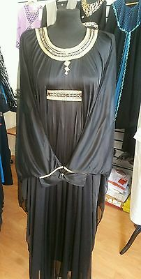 Sale! Sale! Sale! Islamic Dubai Farasha Abaya available in sizes,m,l,xl