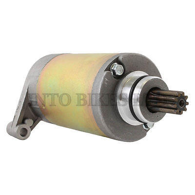 BRAND NEW HEAVY DUTY STARTER MOTOR FOR Suzuki GZ 125 Marauder 2005 - 2007