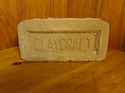 Lot 3. Vintage Claycraft Early Building Brick Columbus, Ohio