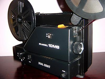 Bell & Howell 10MS Super 8 & Standard 8mm Variable Speed Movie Projector
