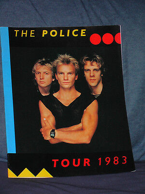 The Police Tour Booklet 1983