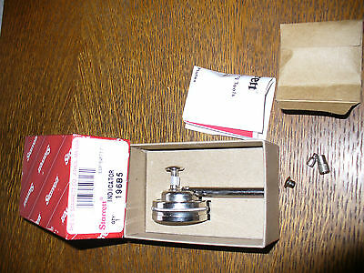 New In Box Starrett #196B5 Universal Back Plunger Dial Indicator .001