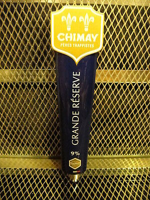 CHIMAY PERES TRAPPISTES ~ BELGIAN ~ NEW ~ Grande Reserve 9% ~ Beer Tap Handle