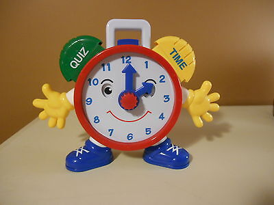 Learn to Tell Time with Electronic Teaching Talking Clock PreSchool Home School