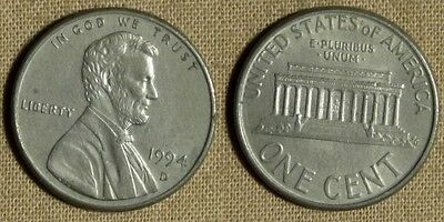 Error:  1994D Cent Unplated  CGE264