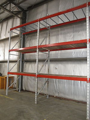 2 Sections 10' Tall Pallet Racking R.U.Rack......
