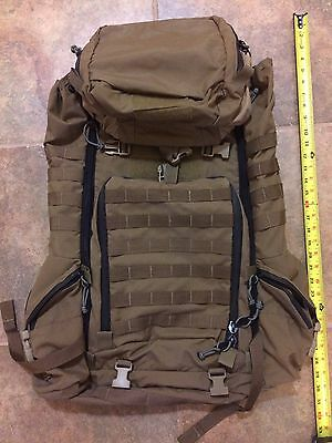 Barely Used Mystery Ranch Rous Backpack Coyote Brown Medic 3300 Military Seal