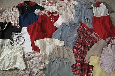 Vintage 1950s 1960s Baby Children's Clothing Lot