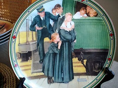 "Norman Rockwell ""An Orphan's Hope"" Collector Plate"