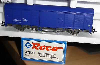 Roco 47590 covered goods wagon Gbs the ÖBB Ep. 4/5, H0 sehr gut erhalten boxed