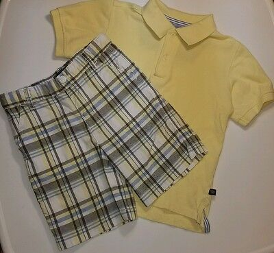 boys 4 4t eland shorts and polo shirt 2 piece set **LoOk .99cent SALE**