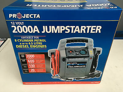Hp2012 Projecta 2000Amp Jump Pack Power Supply