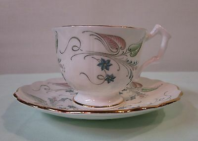 Aynsley bone china cup and plate