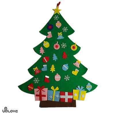 3ft Felt Christmas Tree Set with Ornaments that Wall Hanging Decoration